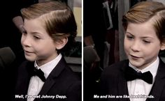 They're totally best friends now. | 21 Times Jacob Tremblay Totally Won Awards Season