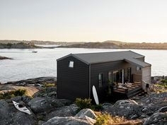 Hem - Trendenser Pella Hedeby, Contemporary Cabin, Bastilla, House Yard, Grand Designs, Summer Dream, Muji, Scandinavian Home, Cabins In The Woods