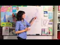 ▶ How to Draw Sea Life - Great Artist Mom - Guided Drawing - YouTube