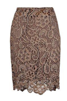 Wonderful lace pencil skirt