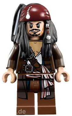 LEGO Pirates of the Caribbean Jack Sparrow