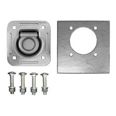 D-Ring Kit, Recessed with Backing Plate and Bolts