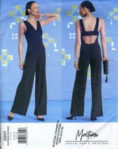 8ad045522d1 Vogue 2557 UNCUT Montana Jumpsuit Pattern Size 8-12