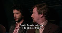 Flight Of The Conchords, This Is Your Life, New Energy, Film Quotes, Film Serie, My Vibe, Six Feet Under, Reaction Pictures, David Bowie