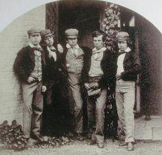 Victorian school boys