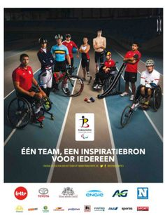 Ad in the Picture : Paralympic Team Belgium - Magazine Media Belgium, Basketball Court, Father, Ads, Bike, Magazine, Sports, Pictures, Inspiration