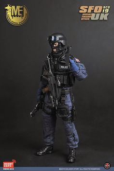 onesixthscalepictures: Soldier Story UK SPECIAL FIREARMS OFFICER (SFO) : Latest product news for 1/6 scale figures (12 inch collectibles) from Sideshows Collectibles, Hot Toys, Medicom, TTL, Triad Toys, Enterbay and others.