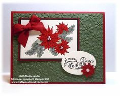 Bells & Boughs by mcalexab - Cards and Paper Crafts at Splitcoaststampers