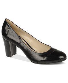 "Perfect cap toe work pump   Naturalizer Shoes, Esme Pumps   2-3/4"" heel"