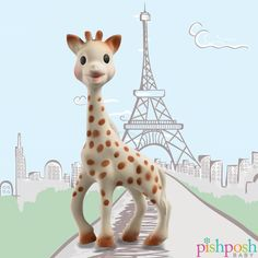 You'd never believe she's over 50! What's Sophie's secret? Maybe that she's made of 100% Natural Rubber with food grade paint! Babies love the scent and texture of this classic toy. Makes the perfect gift!  http://www.pishposhbaby.com/sophie-the-giraffe.html