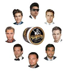 #Gentlemen slick back your #hair or to sweep it flat for a #dapper look with #Suavecito #HairPomade available at #RoostersMensGrooming Center at the #Palladio in #Folsom