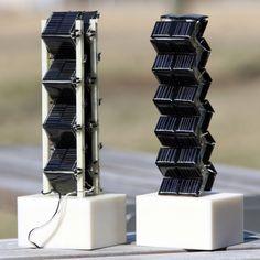 solares o paneles fotovoltaicos. Un panel plano detrás de otro y con escasa exposición al Sol no ayuda mucho, y así como en lo audiovisual, el 3D viene a su