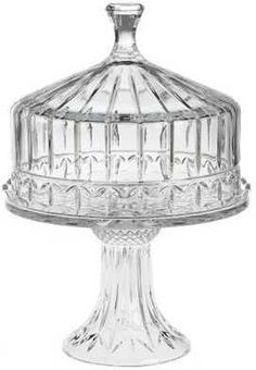 Cheesecake or Bundt Cake, in Crystal Cake Dome (1)