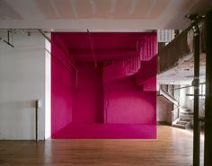 George Rousse - Architectural Sculptures