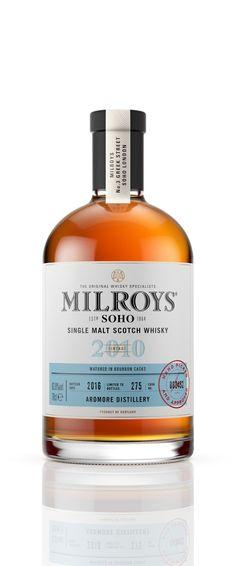Milroys of Soho Whiskey