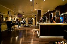 high end barber shops - my hubby would love this.