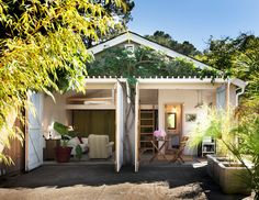 450 sq. ft. garage to studio/guest house conversion.
