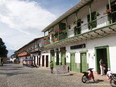 Arquitectura colonial, en Antioquia.
