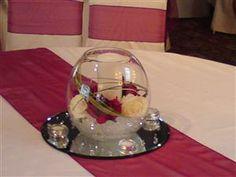 Goldfish Bowl Table Centrepiece
