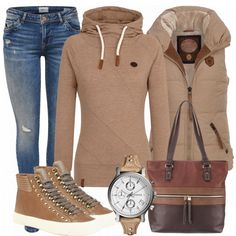 SandFossil Outfit - Winter-Outfits bei FrauenOutfits.de