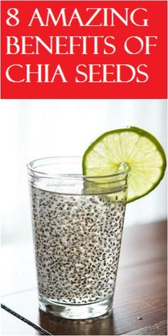 8 Amazing Benefits Of Chia Seeds Chia Seeds, Natural Health, Natural Remedies, Benefit, Food And Drink, Amazing, Dawn, Medium, Water