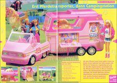 Barbie horse trailer! Barbie 90s, Vintage Barbie Dolls, Childhood Toys, Childhood Memories, Barbie Horse, Barbie Playsets, Diy Accessoires, Barbie Accessories, Barbie Collector