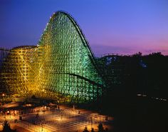 I love Roller Coasters. In particularly, millennium force at Cedar Point