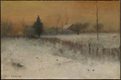 Home at Montclair (1892) | George Inness