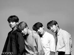 Jungkook, Jimin, Suga and J-Hope~ ❤ BTS X non-no Japanese Magazine~ #BTS #방탄소년단
