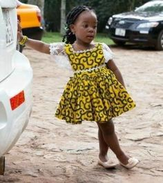 Cute African dress for kid