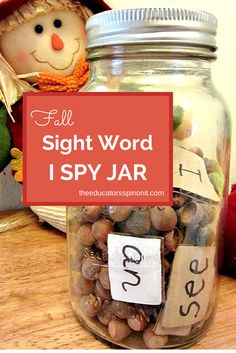 EASY Sight Word Games for learning PLUS an additional 10 bonus activities for learning science, math, and literacy with Nuts and Seeds: A FREE PRESCHOOL Unit!