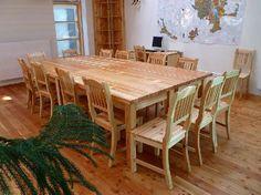 Zasedací místnost - Lesy města Písku Lesy, Dining Table, Furniture, Home Decor, Decoration Home, Room Decor, Dinner Table, Home Furnishings, Dining Room Table