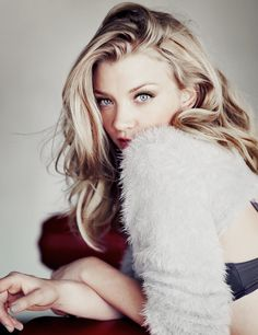 Natalie Dormer: her eyes are captivating and she has wonderful hair.