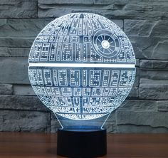 Star Wars  Colorful 3D LED Lamp