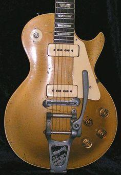 Gibson Les Paul with doggone bridge