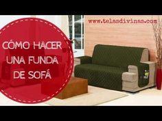 Aprendemos cómo hacer una funda de sofá a la medida, del tamaño de tu sofá. La haremos a la carta y personalizaremos los laterales con bolsillos.