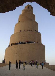 Minaret of the Great Mosque Samarra, Iraq  9th century
