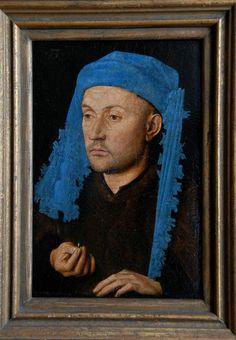 Jan Van Eyck- 1429 - Portrait of a Goldsmith