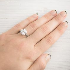 Image of 3.77 Carat Vintage Art Deco Engagement Ring  $80,000  ridic, I know. BUt a girl can dream :)