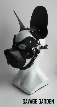 Brand New 100/% Real LEATHER Pup Bone PUPPY PLAY//FANCY DRESS