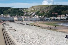 View across beach town of Llandudno   Snooker World Grand Prix at Venue Cymru   Quality Cottages   http://www.qualitycottages.co.uk/aroundwales/snooker-world-grand-prix-kicks-llandudno-week/