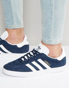 6c84177002ea9c adidas Gazelle Sneakers In Navy BB5478 Gazelle Bleu