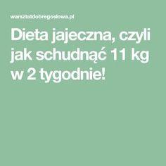 Dieta jajeczna, czyli jak schudnąć 11 kg w 2 tygodnie! Healthy Tips, Healthy Eating, Good To Know, Health And Beauty, Herbs, How To Plan, Workout, Food, Diet Plans