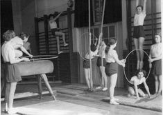 Oh gawd, I hated gym lessons, I hated those knickers, and I hated the showers afterwards even more!