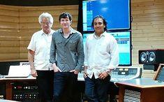 John Storyk, Adam Young and PK Pandy (Pic: Felipe Tavera)