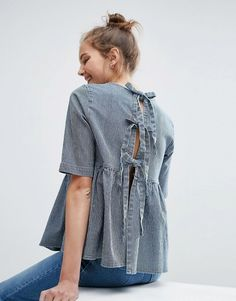Discover new clothes and latest trends in women's clothing at ASOS. Shop the newest women's clothes, dresses, tops, skirts and more. Order now at ASOS. Autumn Fashion Women Fall Outfits, Fashion Outfits, Pretty Outfits, Cute Outfits, Summer Outfits, Ugly Outfits, Asos, Mode Chic, Denim Top