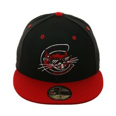 7cdc02256820a Exclusive New Era 59Fifty Charleston Alley Cats Hat - 2T Black