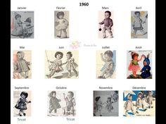 Modes et Travaux - Patrons poupée 1960