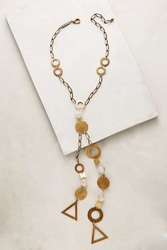 Outskirts Necklace #anthropologie