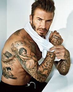 Football player: David Beckham By: Marc Hom For: People Magazine